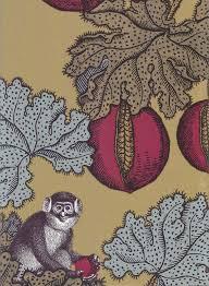 monkey wallpaper for walls frutto proibito wallpaper a fornasetti wallpaper depicting monkeys