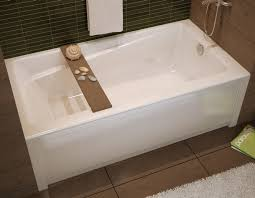 Bathtubs Montreal Exhibit 6032 Bathtub With Apron For Alcove Installation Bathtubs