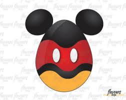 mickey mouse easter egg mickey mouse easter etsy
