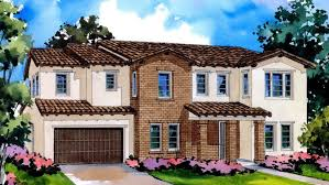 Adobe House Plans Stafford At Greenwood New Homes In Tustin Ca 92782