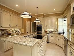 kitchen remodeling ideas santa cecilia granite white cabinets backsplash ideas inspiration