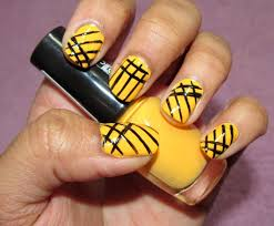 simple lines nail art design simple line manicure líneas simples