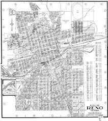 Nevada City Map Map Of Reno 1940 Photo Details The Western Nevada Historic