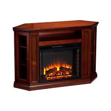boston loft furnishings aldan electric fireplace media stand with