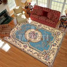 tappeto aubusson volant tappeto classico stile francese 800 ciniglia jacquard