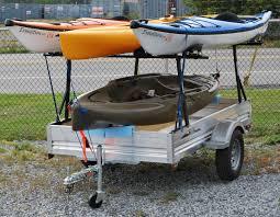 nissan titan kayak rack pimping my trailer pics need ideas hearth com forums home