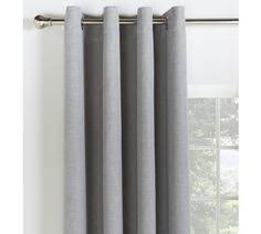 Blackout Curtains And Blinds Buy Collection Linen Look Blackout Curtains 117x183cm Stone At