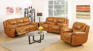 Mabella Plaza Reclining Living Room Set  Jennifer Furniture - Orange living room set