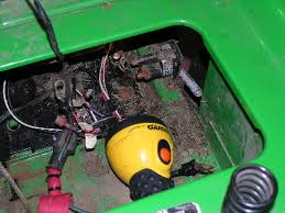 starter trouble on jd saber lawn tractor