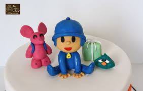 pocoyo cake toppers pocoyo character cake birthday the hudson cakery