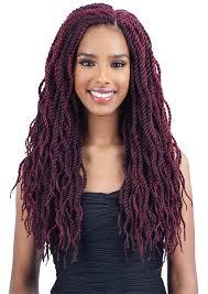 medium size packaged pre twisted hair for crochet braids freetress pre looped crochet braid wavy senegalese twist 18 inch