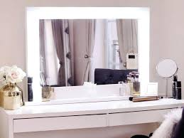 Small Vanity Table Chic Inspiration Vanity Table And Mirror With Lights Best Ideas