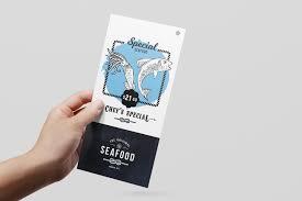dl seafood menu template in psd ai u0026 vector brandpacks