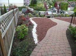 Small Rock Garden Pictures by Small Red Landscaping Rocks Small Red Rock Landscaping And