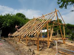 What Is An A Frame House Ben Law Woodsman Coppicer And Natural Eco Builder Of The