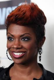 kandi burruss hairstyles 2015 kandi burruss layered spiked red haircut for black women styles