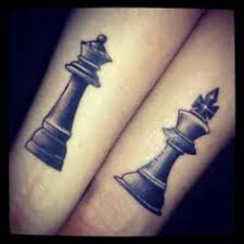 tattoo of queen and king black chess queen and king tattoos tattooshunt com
