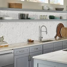 grey kitchen countertops with white cabinets 20 kitchen backsplash ideas for white cabinets
