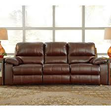 ashley transister power reclining sofa with power adjusting