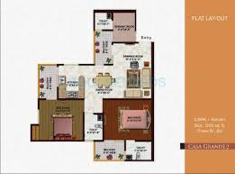 3 bhk 1880 sq ft apartment for sale in earthcon casa grande ii