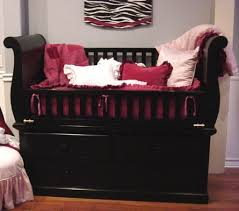 Sleigh Bed Cribs Canopy Baby Cribs Baby And Nursery Furnitures
