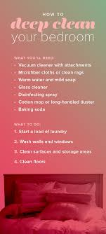 cleaning bedroom checklist how to deep clean your bedroom like a pro organizing bedrooms and