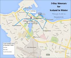 Iceland World Map 3 Day Itinerary For Iceland In Winter Jetsetting Fools