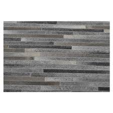 Patchwork Area Rug Gray Cowhide Patchwork 5 X 8 Area Rug El Dorado Furniture