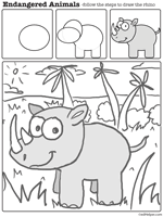 endangered species theme unit worksheets reading comprehension