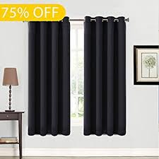 Cheap Drapes For Windows Amazon Com Deconovo Room Darkening Thermal Insulated Blackout