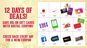 gift cards deals 12 days of christmas gift card deals at kroger bargains to bounty