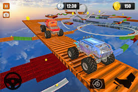 monster truck show miami monster truck stunts impossible tracks 3d android apps on google