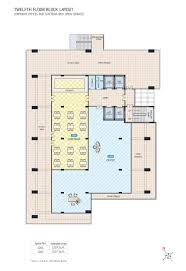 Cafeteria Floor Plan by Chordia Real Estate