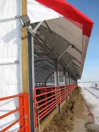Awning Tech Benefits Of Span Tech Fabric Buildings Side Awnings For Cattle