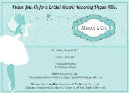 Registry Cards For Wedding Invitations Evites For Bridal Shower Best Shower