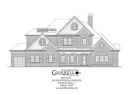 house plans on line newcastle d house plan house plans by garrell associates inc