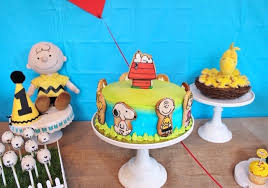 brown birthday party kara s party ideas peanuts brown birthday party kara s