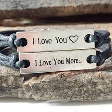 his and hers engraved bracelets couples custom engraved bracelet products on wanelo