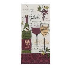 amazon com kay dee designs r2940 wine not terry towel home u0026 kitchen