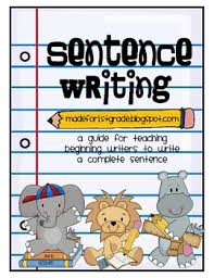 sentence structure unit by made for 1st grade teachers pay teachers