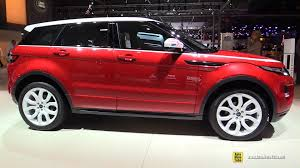 land rover small 2015 range rover evoque td4 diesel exterior and interior