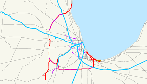 Chicago El Map by Elgin Joliet And Eastern Railway Wikipedia