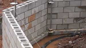 how to lay cement block how to lay concrete block wall you