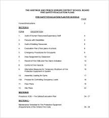 evacuation plan template 18 free word pdf documents download