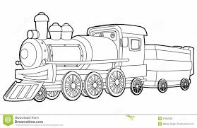 free printable train coloring pages kids special train