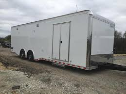 V Nose Enclosed Trailer Cabinets by 30 U0027 Cabinets Down Side Wall X Tra Ht Haulmark Edge Car Trailer