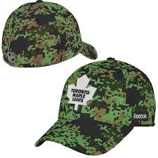 men u0027s toronto maple leafs reebok camo canadian print flex hat