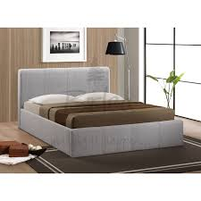 birlea brooklyn grey ottoman 150cm king size bed frame beds