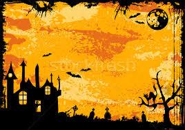 halloween frame vector illustration oleksii telnov talex