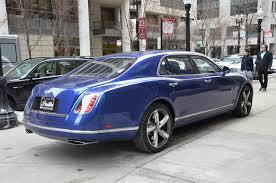 bentley mulsanne speed blue 2016 bentley mulsanne speed stock gc mir124 for sale near